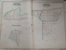 1907 EAST VILLAGE TOMPKINS SQUARE PARK MANHATTAN NY ATLAS MAP