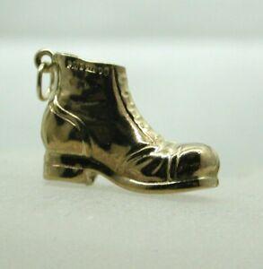 1970's Vintage 9 carat Gold Boot Charm