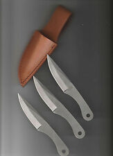 """PERFECT POINT 3PC  THROWING KNIFE SET 6"""" OVERALL  CN3422S"""