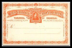 GP GOLDPATH: HONDURAS POSTAL CARD MINT _CV712_P19