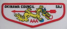 Okinawa Council Scouts of Japan Pocket Flap  OA  SAJ
