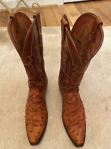 Lucchese Western Boots - Women's Size 7.5B, Brown