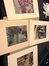 UC BERKELEY CAL PRINTS BY CHIURA OBATA Lot Of 4 LIMITED EDITION