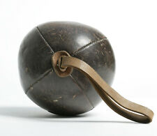 Vintage 1930s - 40s leather medicine ball / Boxing/exercise