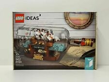 Lego Ideas Ship in a Bottle 21313 *New, Factory Sealed* Ships Free