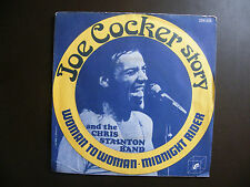 "SP JOE COCKER AND THE CHRIS STAINTON BAND ""Woman to woman""  Cube Records ‎"