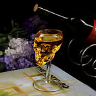 Bones Armor Warrior Skull Designed Wine Glass Goblet Cup Barware Drinkware