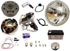 Vape 3 Zündung 12V mit Gelbatterie und Klarglasscheinwerfer Simson Schwalbe KR51