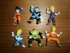 Lot Mini Figurines - DRAGON BALL Z - Set n°6 sans Coffret -  AB TOYS - 1989