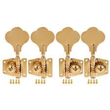 2L2R Bass Tuners Tuning Pegs Keys 4 String Guitar Machine Heads Open Back Gear