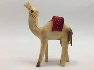 Olive Wood Camel 10 cm Carved Figurine Holy Land Bethlehem Christianity handmade