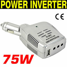 INVERTITORE DI CORRENTE Power INVERTER da 12V a 220/240V USB - 75W