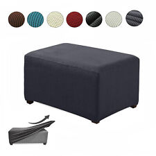 Ottoman Footrest Stool Footstool Chair Foot Cover Rest Sofa Seat Couch for Home
