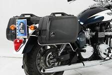 Triumph America/Speedmaster Panniers with full fitting kit from 2011.
