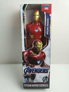 Marvel Avengers IRON MAN Titan Hero Series 12-inch Figure New In Box AGE 4+ (A7)