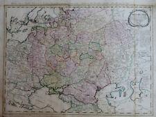 RUSSLAND ASIEN RUSSISCHES REICH IMPERIUM RUSSICUM PETERSBURG KARTE MANNERT 1798