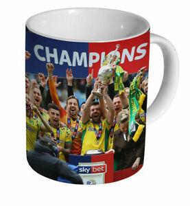 Norwich City Championship Winners 2019 MUG