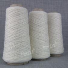 *Ball*CASHMERE+WOOL*Cobweb//Laceweight.1 Ply.White.Cream.Ivory.yarn.knitting2Lace