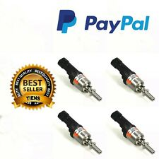4 INIETTORI 67R010185 INJECTOR GAS GPL BRC ARANCIONE 09SQ99020002G FILTRO OMAGGI