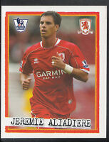 Merlin Football Sticker - Kick Off 2007-08 - No 153 - Middlesbrough - Aliadiere