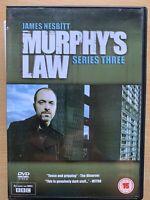 Murphy's Law Season 3 DVD Box Set British TV Crime Thriller Drama Series