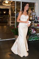 Stunning Halo Bridal, Size 10, Ivory, dupioni, sweetheart, Wedding Dress