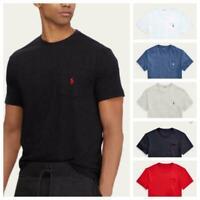 Men's Polo Ralph Lauren Classic Fit Pocket Casual Active Tee T-Shirt