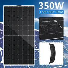 350W semi flexible Solar Panel 36V solar system Waterproof battery RV/car/boat w