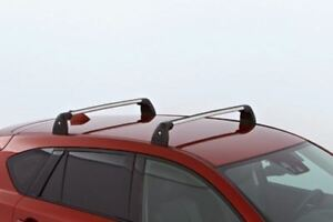 Genuine Mazda CX5 Aluminium Lockable Roof Rack Cross Bars KD45V4701