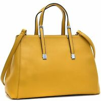 Dasein Women Leather Satchel Handbag Tote Bag Shoulder Bag Briefcase Purse
