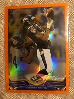 Torrey Smith 2013 Topps Chrome Orange Refractor Insert SP Baltimore Ravens #193