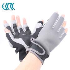 Elastic NeopreneHalf Finger Fishing Gloves Waterproof Anti-Slip Fishing Gloves