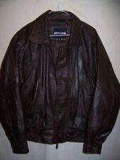 Calvin Klein Leather Jacket, Men's Medium