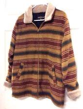 Woolrich Womens Saddle Ombré  Coat Jacket Size Medium Vintage  (WLR)