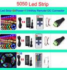 5M 300LED SMD 3528/5050/5630 RGB/White Flexible Strip Light+Remote+Power Supply