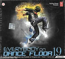 EVERYBODY ON DANCE FLOOR 19 -  2 CD BOLLYWOOD REMIX SET