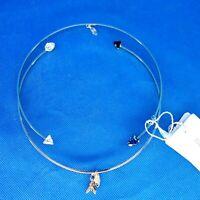 PATRIZIA PEPE Damen Schmuck Kette Halskette Goldfarben Metall Steine Np 139 Neu