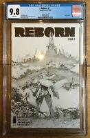 Reborn #1 1:100 Sketch CGC 9.8 Capullo Cover