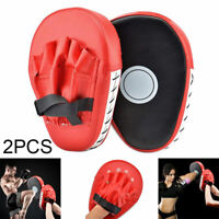2pcs Boxing Gloves and Focus Pads Set Hook Jabs Mitts Punch Bag Gym Training