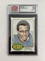 1976 Topps Football Walter Payton ROOKIE RC #148 GEM MINT 10      ' 'MUST SEE' '