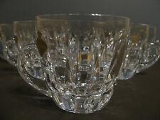 Nachtmann Bowle Gläser Serie Astra, Vintage, Retro, 6 Stück, Top Zustand