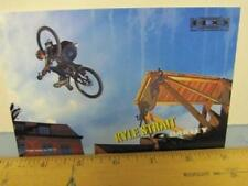 OAKLEY 2006 KYLE STRAIT BMX dealer promo display card New Old Stock Flawless