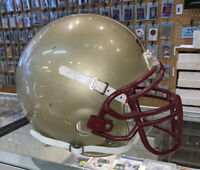BOSTON COLLEGE EAGLES Authentic Full Size Team Issued GAME USED FOOTBALL HELMET
