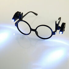 Universal Adjustable LED Glass Eyeglass Clip On Mini Book Reading Light Lamp CCC
