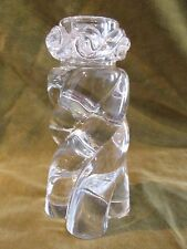 Bougeoir cristal baccarat Torse Aladin (Baccarat crystal candlestick)