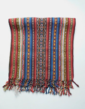 Textile Table Runner/Shawl - From Chincheros-Cusco - Organic - Handmade