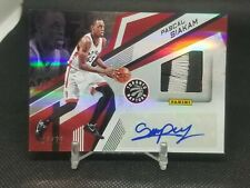 2016-17 Pascal Siakam NBA Finals RPA Rookie Patch Auto #10 /25 RARE RC ASG #PS