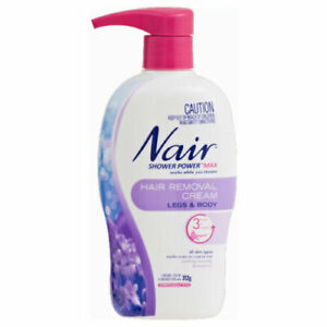 NAIR SHOWER POWER MAX HAIR REMOVAL CREAM 312G FOR LEGS & BODY ALL SKIN TYPES