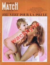 Paris Match n°885 du 26/03/1966 espace lune Neil Amstrong Antoine contraception