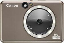 Canon - Ivy CLIQ+2 Instant Film Camera - Metallic Mocha